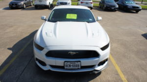 Front of Mustang GT