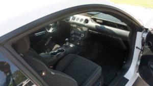 Second Interior of Mustang GT