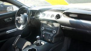 Interior of Mustang GT