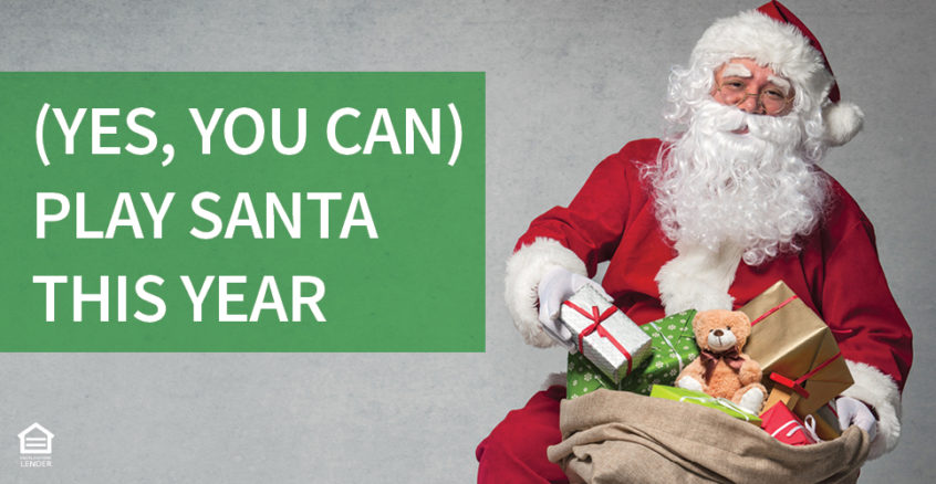 Yes you can play santa this year with a personal loan