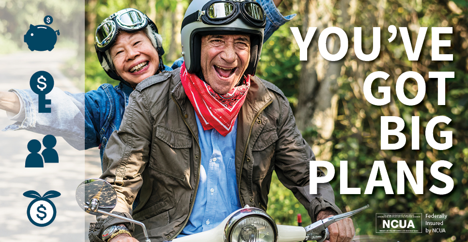 Learn more about You've got Big Plans.  Open an IRA today.