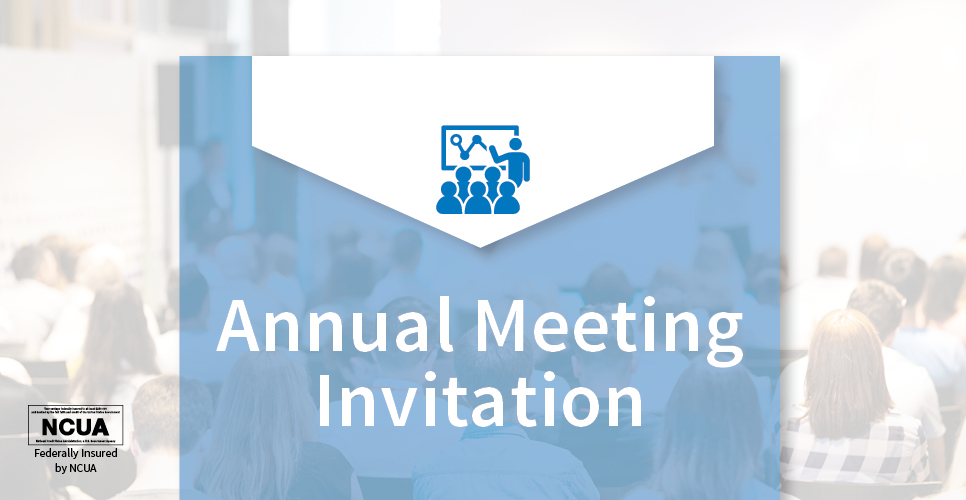 Join us for Annual Meeting