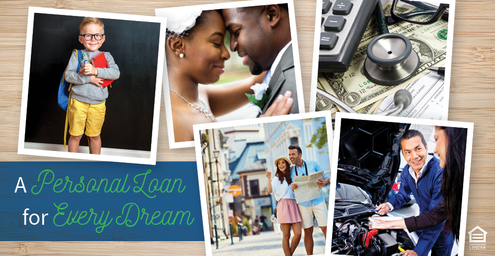 Learn more about A Personal Loan for Every Dream