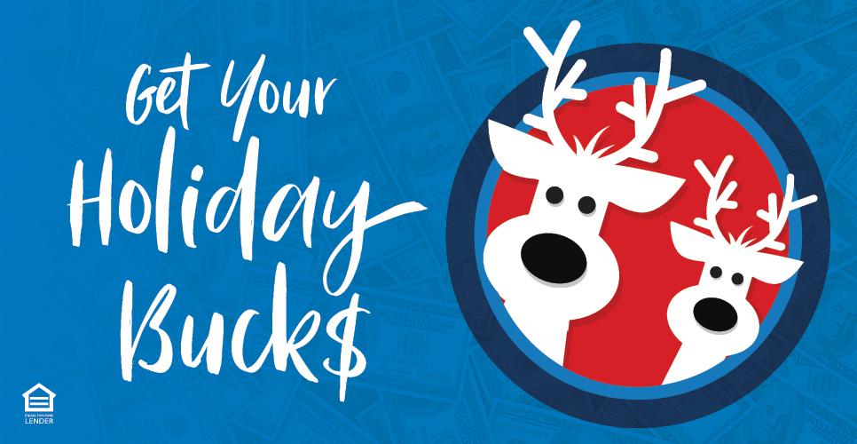 get holiday bucks