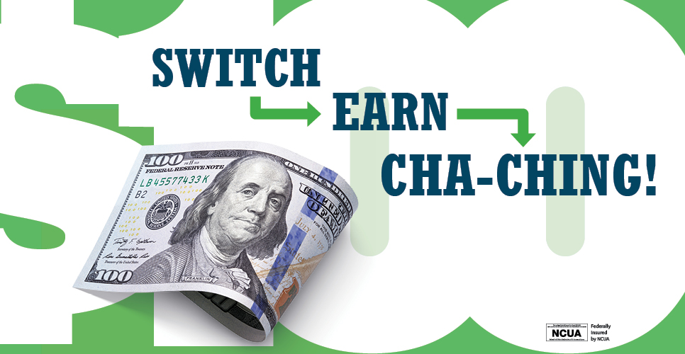 Learn more about Switch Earn Cha-ching