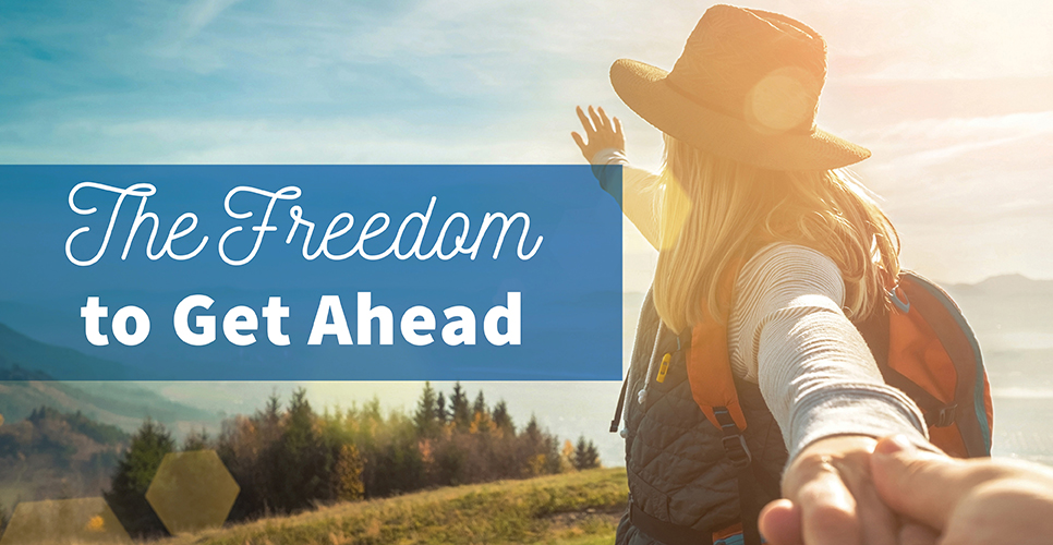Learn more about The Freedom to Get Ahead